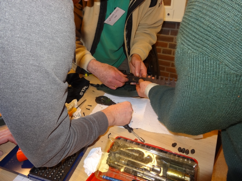Internationale week van het Repair Café