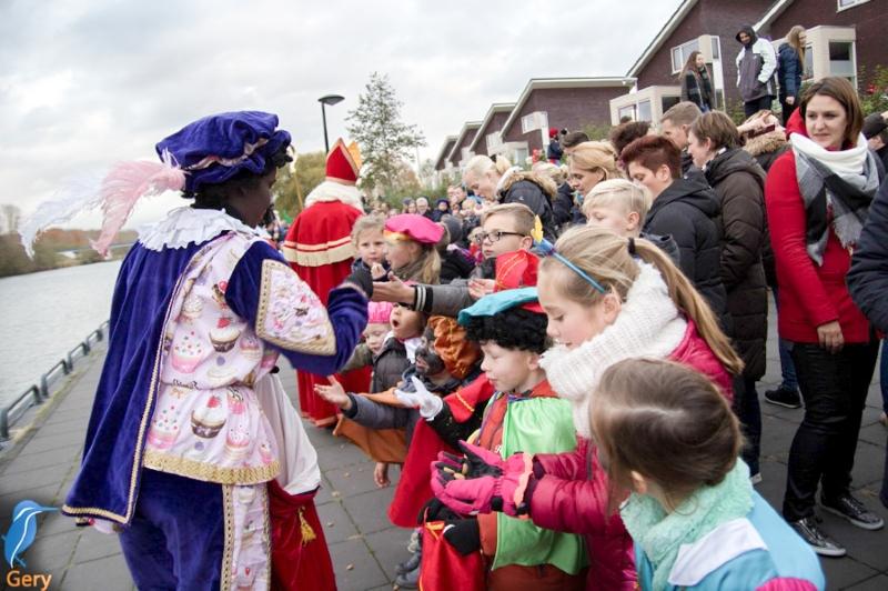 Brief van Sinterklaas: aankomst in Biddinghuizen