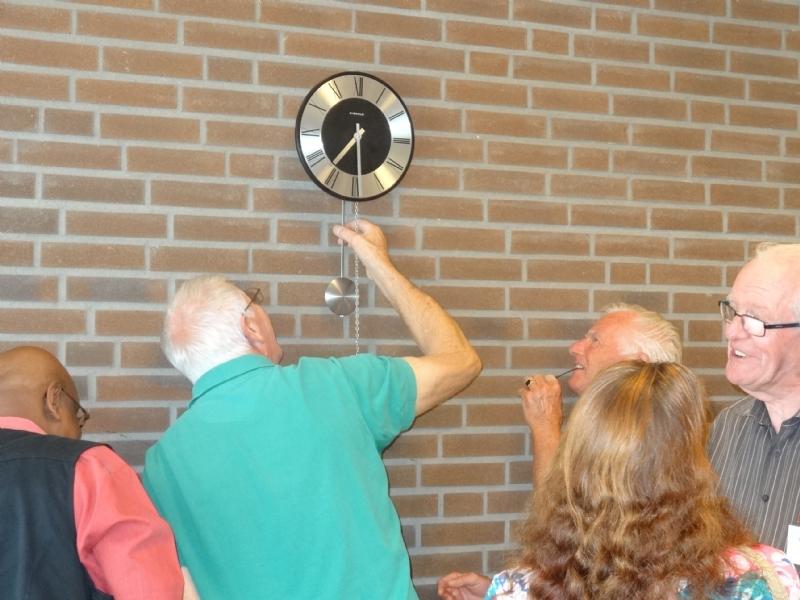 Klokkenmaker toch aanwezig bij Repair Café