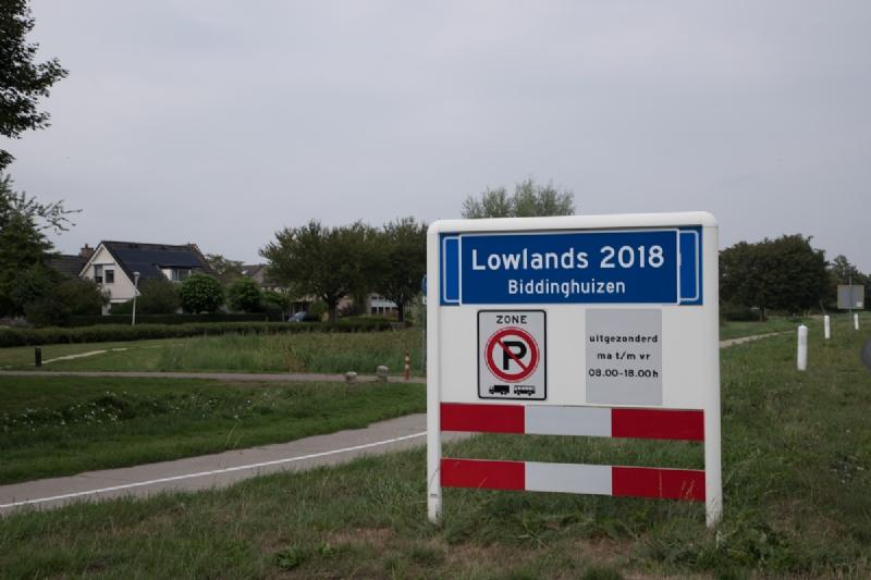Biddinghuizen voor even omgedoopt tot Lowlands-dorp