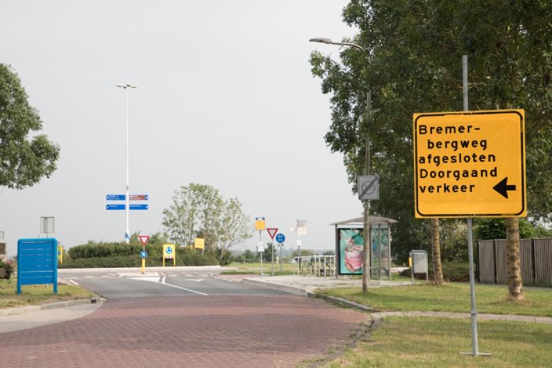 Bremerbergweg maandag afgesloten