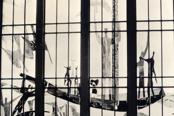 Kunst maker ramen Voorhof te bezichtigen tijdens Monumentendag