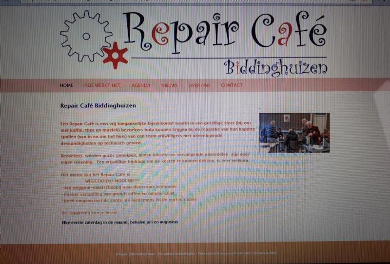 Repair Café lanceert website