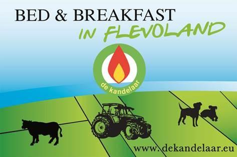 Bed & Breakfast De Kandelaar viert jubileum met 4 tulpen
