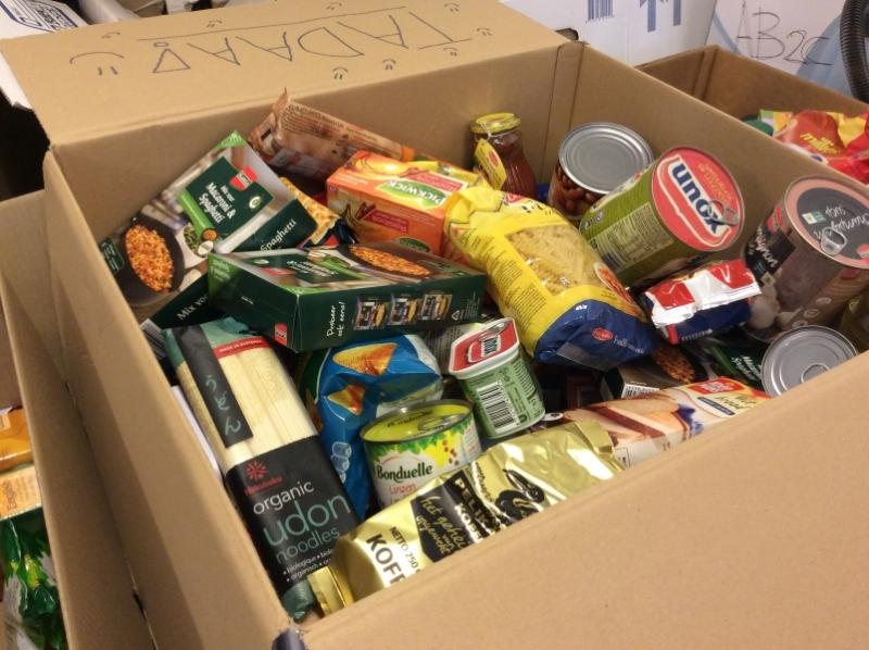 Inzamelen voedselbank aan huis weer mogelijk