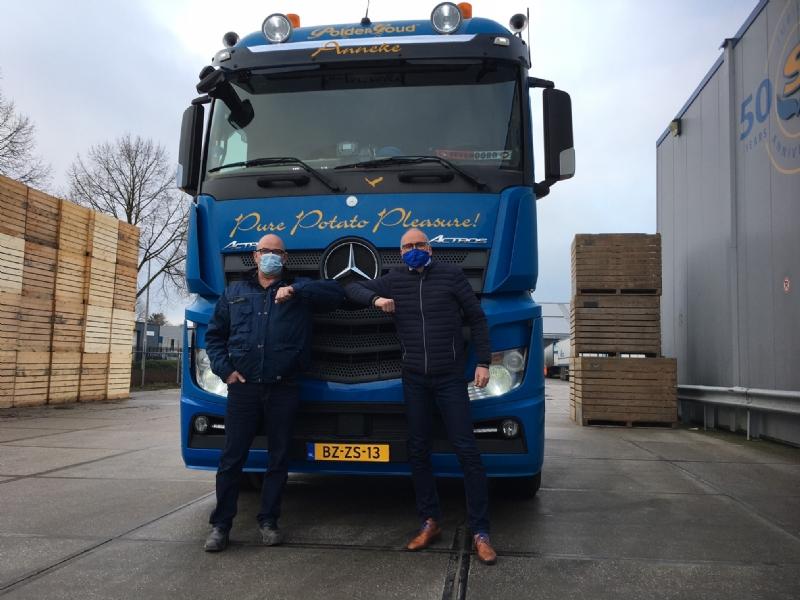 Jan Doppenberg 40 jaar in dienst bij Schaap Holland